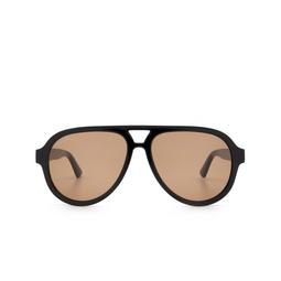 Gucci® Sunglasses: GG0767S color Black 002.