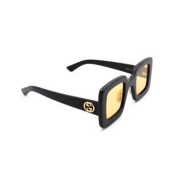 Gucci® Square Sunglasses: GG0780S color Black 006.