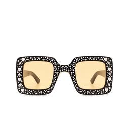 Gucci® Sunglasses: GG0780S color Black 007.