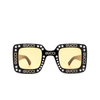 Gucci® Square Sunglasses: GG0780S color Black 008.