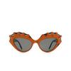 Gucci® Cat-eye Sunglasses: GG0781S color Orange 001 - product thumbnail 1/3.