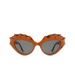 Gucci® Cat-eye Sunglasses: GG0781S color Orange 001.