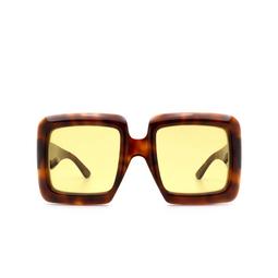 Gucci® Sunglasses: GG0783S color Havana 002.