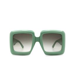 Gucci® Sunglasses: GG0783S color Green 004.