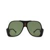 Gucci® Aviator Sunglasses: GG0785S color Black 001 - product thumbnail 1/3.