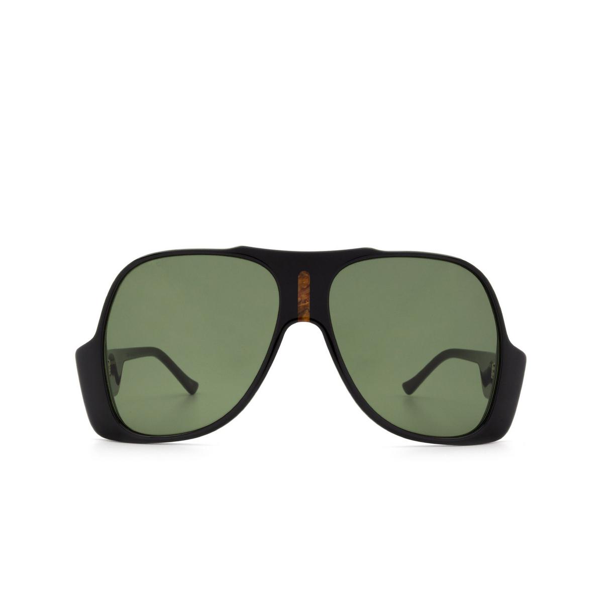 Gucci® Aviator Sunglasses: GG0785S color Black 001 - 1/3.