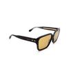 Gucci® Square Sunglasses: GG0786S color Black 001 - product thumbnail 2/3.