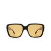 Gucci® Square Sunglasses: GG0786S color Black 001 - product thumbnail 1/3.