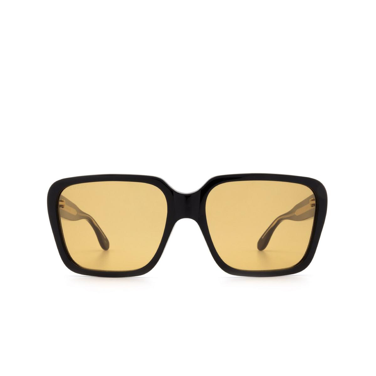 Gucci® Square Sunglasses: GG0786S color Black 001 - 1/3.