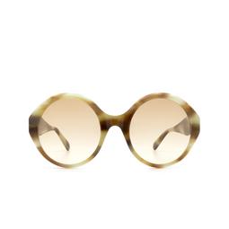 Gucci® Sunglasses: GG0797S color Havana 003.