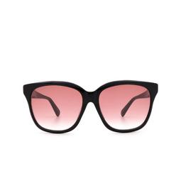 Gucci® Sunglasses: GG0800SA color Black 002.