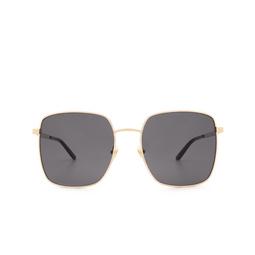 Gucci® Sunglasses: GG0802S color Gold 001.