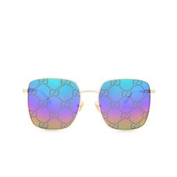 Gucci® Sunglasses: GG0802S color Gold 004.