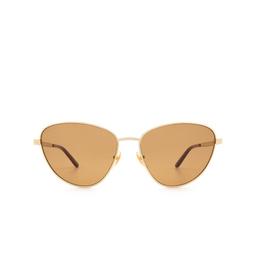 Gucci® Sunglasses: GG0803S color Gold 002.