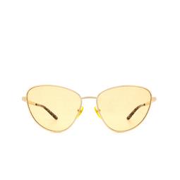 Gucci® Sunglasses: GG0803S color Gold 004.