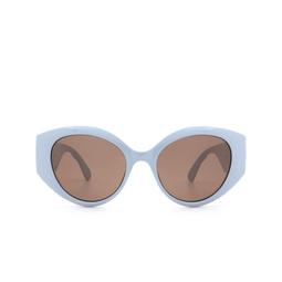 Gucci® Sunglasses: GG0809S color Light-blue 004.