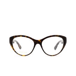 Gucci® Eyeglasses: GG0812O color Havana 002.