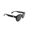 Gucci® Cat-eye Sunglasses: GG0814SK color Black 001 - product thumbnail 2/3.