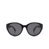 Gucci® Cat-eye Sunglasses: GG0814SK color Black 001 - product thumbnail 1/3.