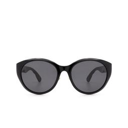 Gucci® Cat-eye Sunglasses: GG0814SK color Black 001.