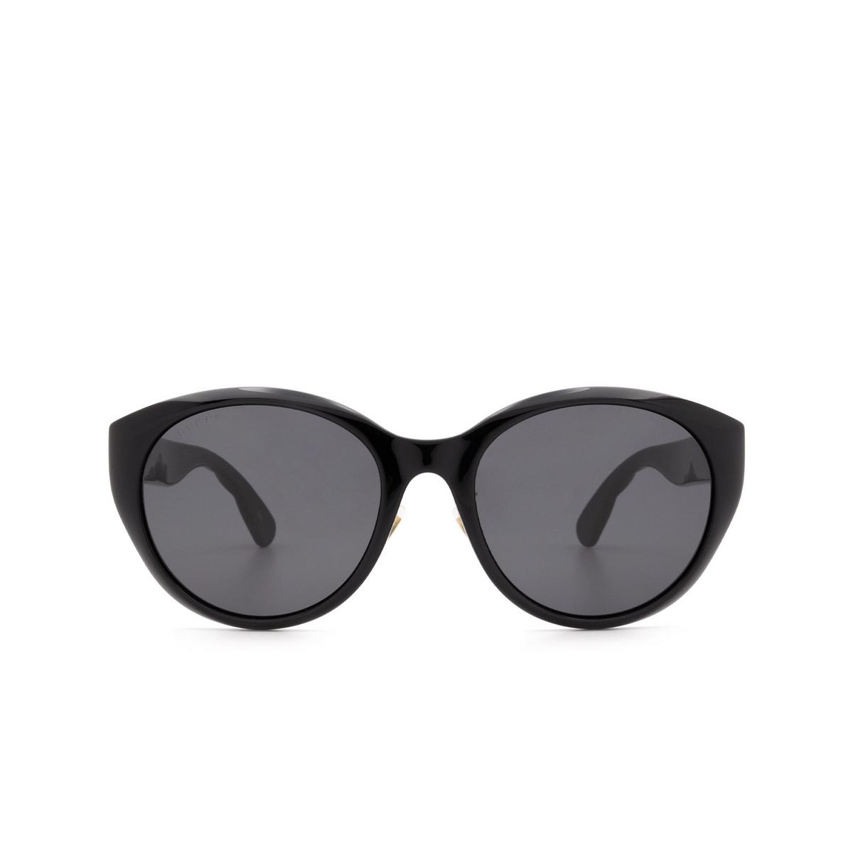Gucci® Cat-eye Sunglasses: GG0814SK color Black 001 - 1/3.