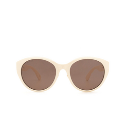 Gucci® Cat-eye Sunglasses: GG0814SK color Ivory 002.