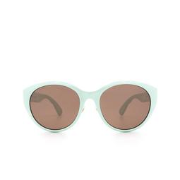 Gucci® Cat-eye Sunglasses: GG0814SK color Green 003.