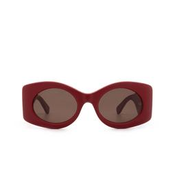 Gucci® Sunglasses: GG0815S color Red 001.