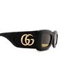 Gucci® Rectangle Sunglasses: GG0816S color Black 001 - product thumbnail 3/3.