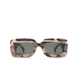 Gucci® Rectangle Sunglasses: GG0816S color Grey 002.