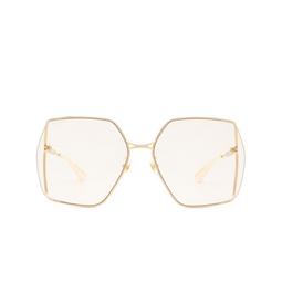 Gucci® Sunglasses: GG0817S color Gold 005.