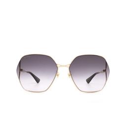 Gucci® Sunglasses: GG0818SA color Gold 001.