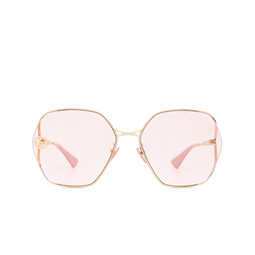 Gucci® Sunglasses: GG0818SA color Gold 003.