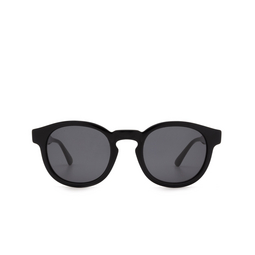 Gucci® Round Sunglasses: GG0825S color Black 001.