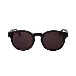 Gucci® Round Sunglasses: GG0825S color Havana 002.