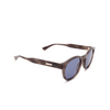 Gucci® Round Sunglasses: GG0825S color Havana 004 - product thumbnail 2/3.