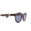 Gucci® Round Sunglasses: GG0825S color Havana 004 - product thumbnail 3/3.