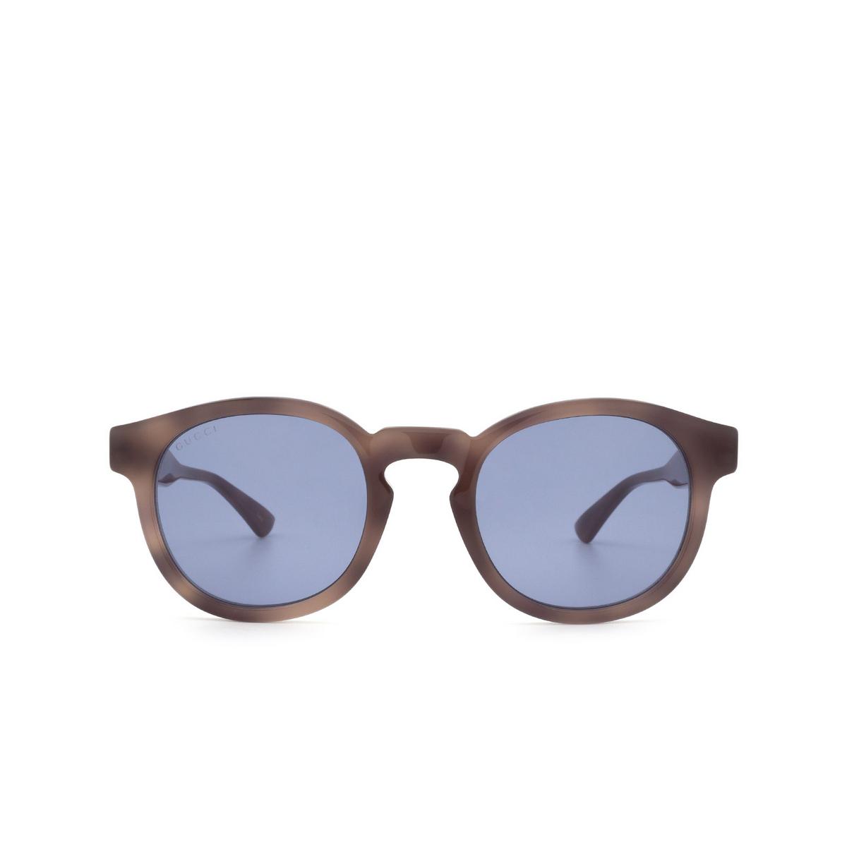 Gucci® Round Sunglasses: GG0825S color Havana 004 - 1/3.