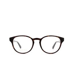 Gucci® Eyeglasses: GG0827O color Havana 005.