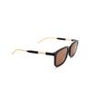 Gucci® Square Sunglasses: GG0842S color Black 001 - product thumbnail 2/3.