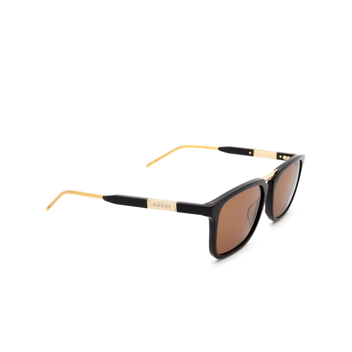 Gucci® Square Sunglasses: GG0842S color Black 001 - 2/3.