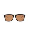 Gucci® Square Sunglasses: GG0842S color Black 001 - product thumbnail 1/3.