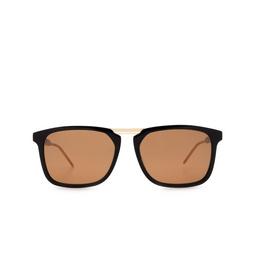 Gucci® Square Sunglasses: GG0842S color Black 001.