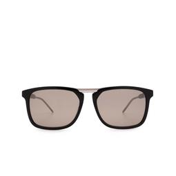 Gucci® Square Sunglasses: GG0842S color Black 002.