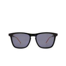 Gucci® Square Sunglasses: GG0843S color Black 001.