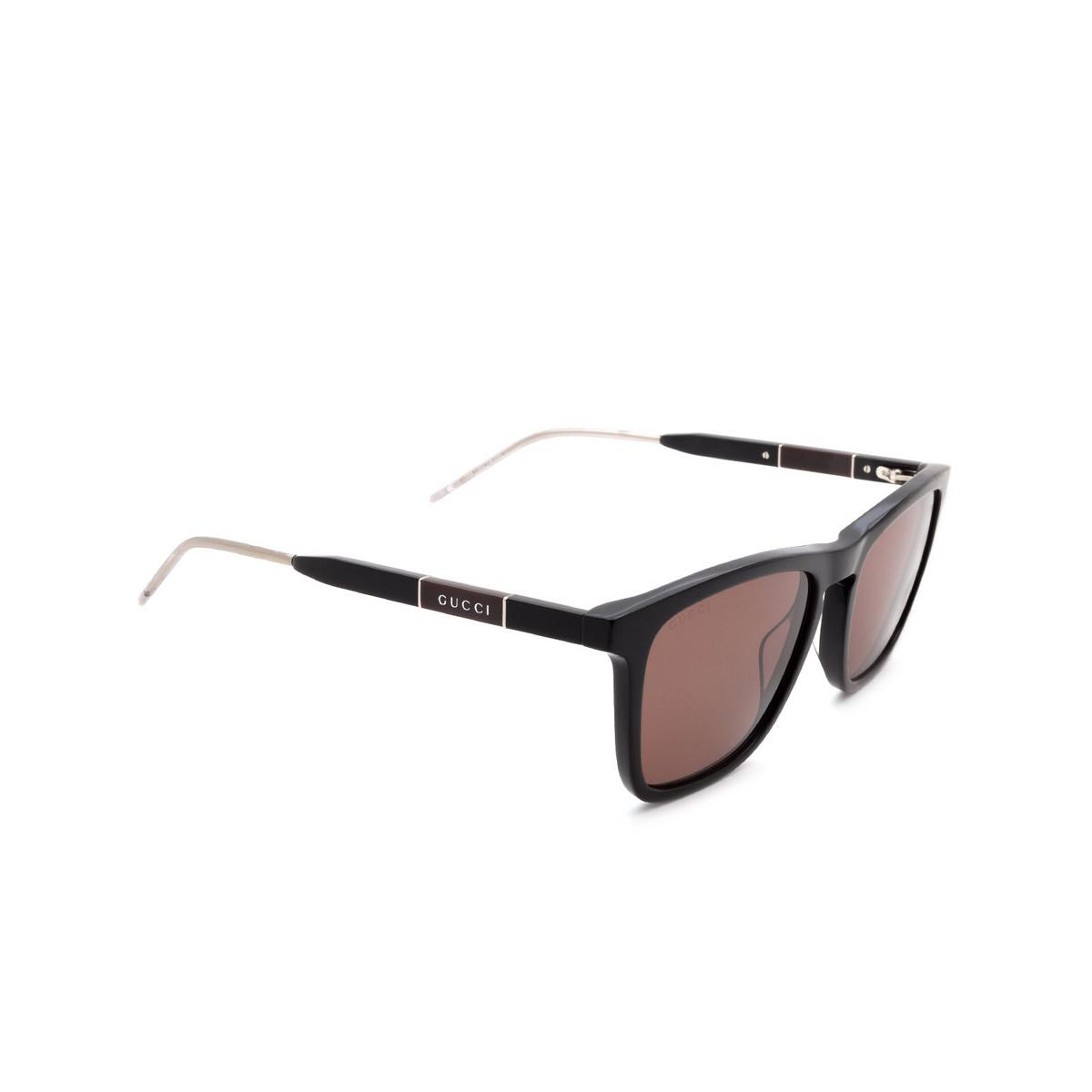 Gucci® Square Sunglasses: GG0843S color Black 004 - 2/3.