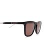 Gucci® Square Sunglasses: GG0843S color Black 004 - product thumbnail 3/3.