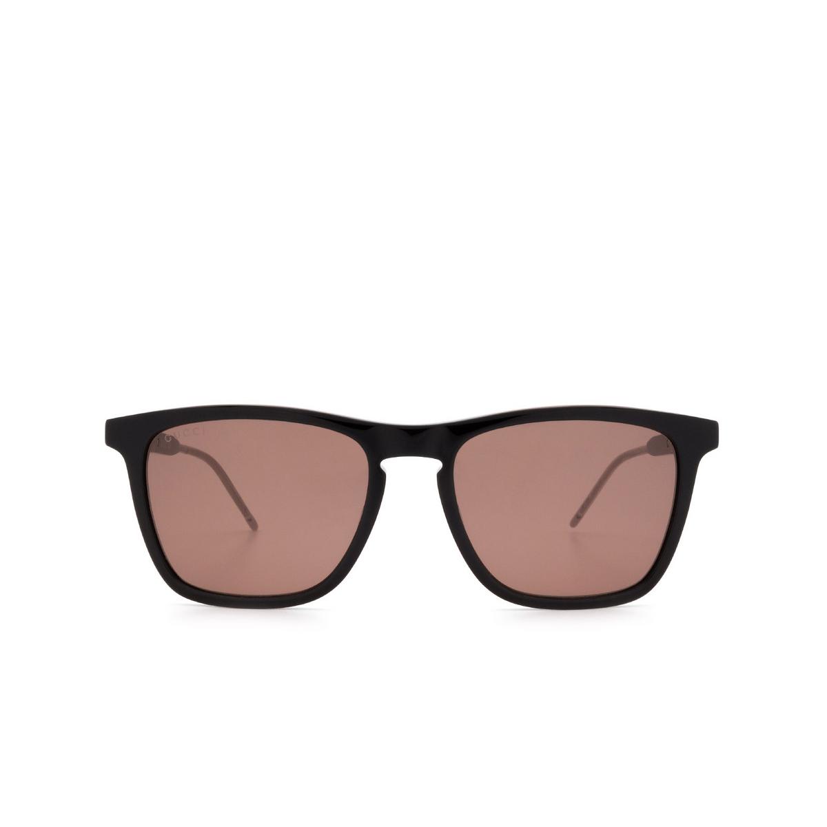 Gucci® Square Sunglasses: GG0843S color Black 004 - 1/3.