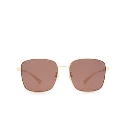 Gucci® Sunglasses: GG0852SK color Gold 004.
