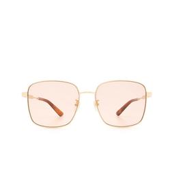 Gucci® Sunglasses: GG0852SK color Gold 005.